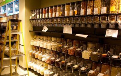 Supermercados con productos locales y sin plásticos